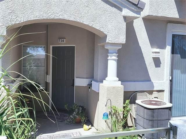 7543 W Liberty #734, Fontana, CA 92336 (#CV21204156) :: Corcoran Global Living
