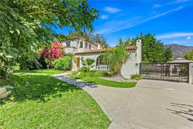475 E Orange Grove Avenue, Sierra Madre, CA 91024 (#AR21204470) :: Steele Canyon Realty