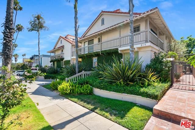 814 18Th Street D, Santa Monica, CA 90403 (#21784350) :: Corcoran Global Living