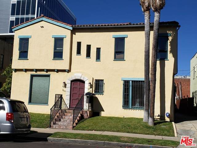 7007 Willoughby Avenue, Los Angeles (City), CA 90038 (#21784698) :: Blake Cory Home Selling Team