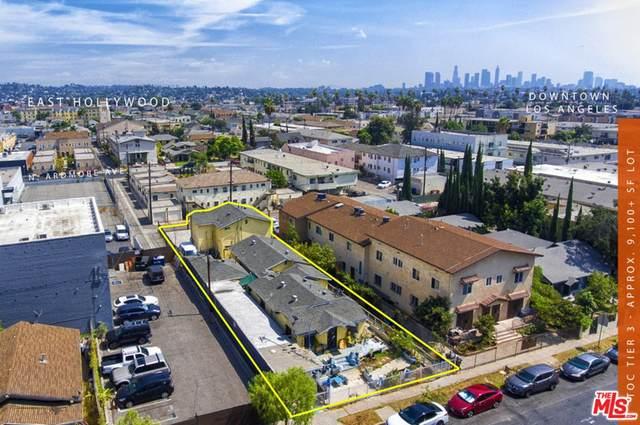 1054 N Kingsley Drive, Los Angeles (City), CA 90029 (#21785016) :: Blake Cory Home Selling Team