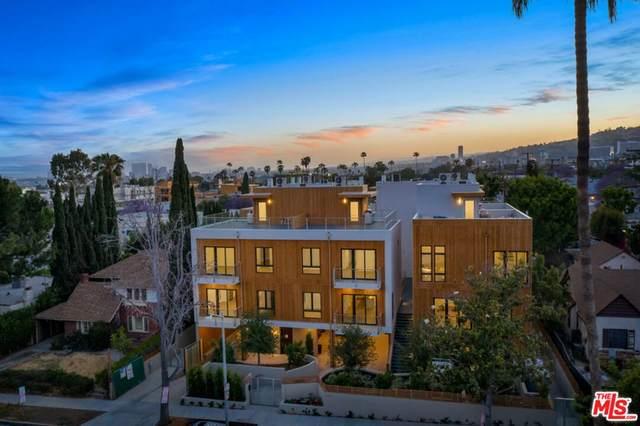 1041 N Spaulding Avenue #103, Los Angeles (City), CA 90046 (#21784968) :: Millman Team