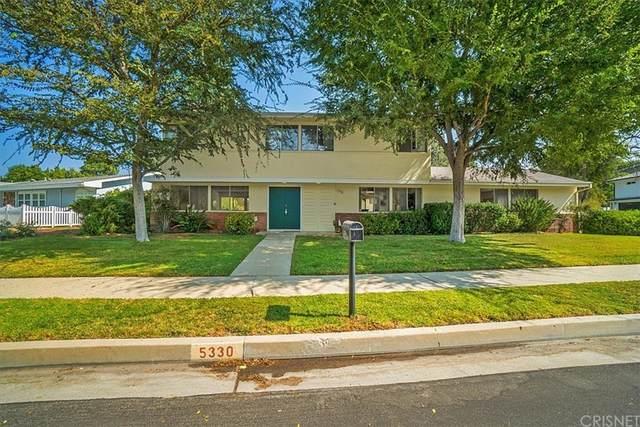 5330 Blanco Avenue, Woodland Hills, CA 91367 (#SR21205942) :: Zen Ziejewski and Team