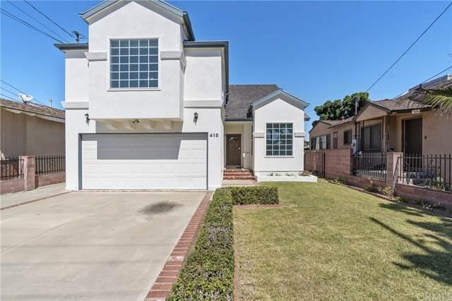 415 W Magnolia Avenue, Inglewood, CA 90301 (#PW21135521) :: A|G Amaya Group Real Estate