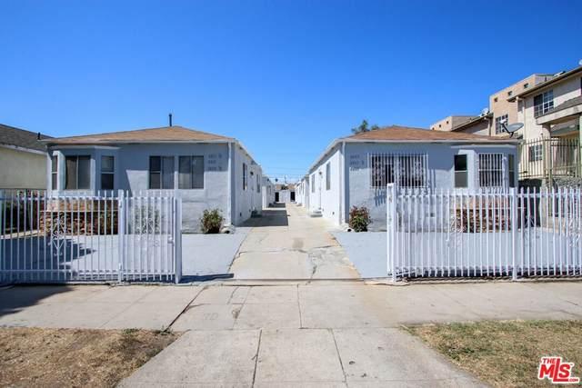6607 Brynhurst Avenue, Los Angeles (City), CA 90043 (#21784878) :: Steele Canyon Realty