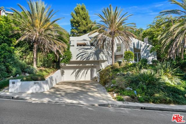 2870 Deep Canyon Drive, Beverly Hills, CA 90210 (#21782566) :: The Miller Group