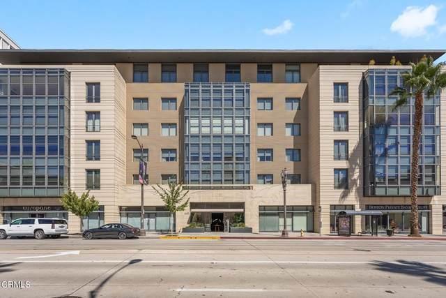 345 E Colorado Boulevard #406, Pasadena, CA 91101 (#P1-6721) :: Swack Real Estate Group | Keller Williams Realty Central Coast
