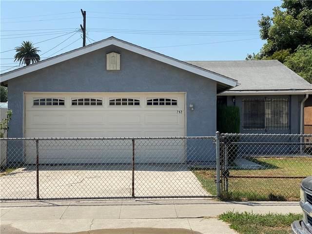 712 W 138th Street, Compton, CA 90222 (#CV21206083) :: RE/MAX Masters