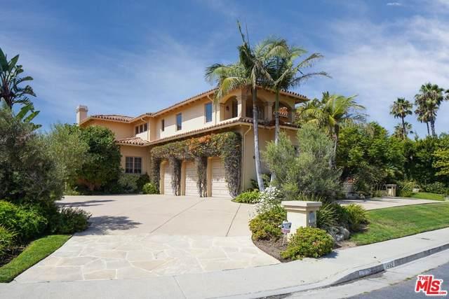 1452 Via Cresta, Pacific Palisades, CA 90272 (#21784716) :: Blake Cory Home Selling Team