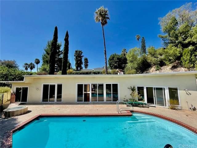 15641 High Knoll Road, Encino, CA 91436 (#SR21205110) :: Corcoran Global Living