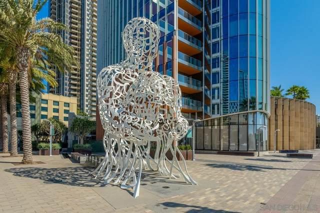 888 W E St #2104, San Diego, CA 92101 (#210026621) :: First Team Real Estate