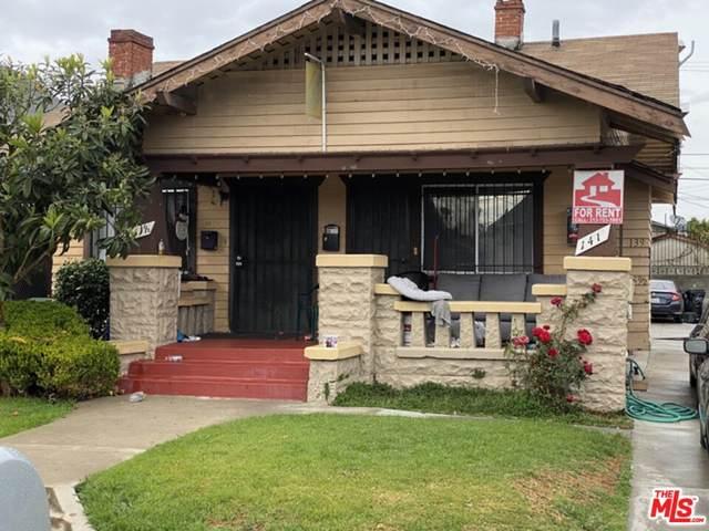 139 W 48Th Street, Los Angeles (City), CA 90037 (#21785420) :: Millman Team