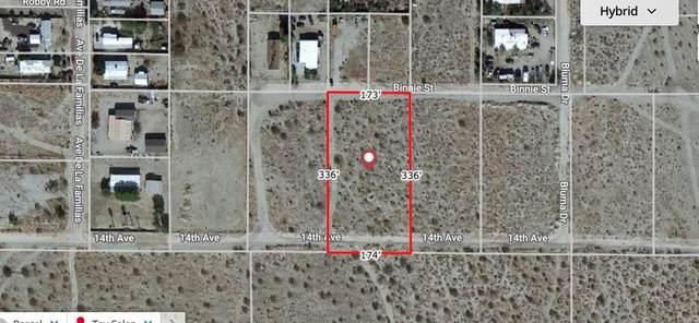 14 th Ave - 1.1 Acres Vacant Lot, Desert Hot Springs, CA 92241 (#219067780DA) :: The Ashley Cooper Team