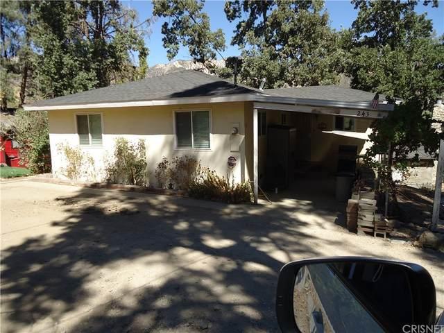 243 Valley Trail, Frazier Park, CA 93225 (#SR21206770) :: Jett Real Estate Group