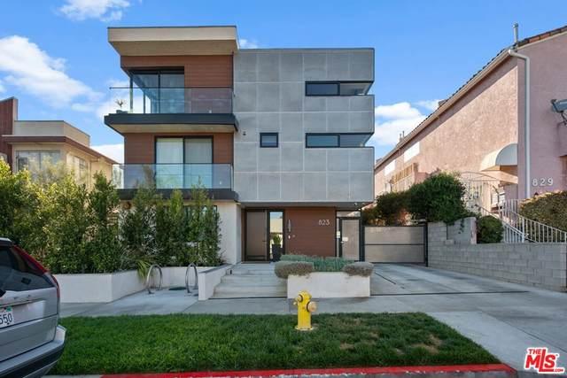 823 N Fuller Avenue C, Los Angeles (City), CA 90046 (#21779928) :: Blake Cory Home Selling Team
