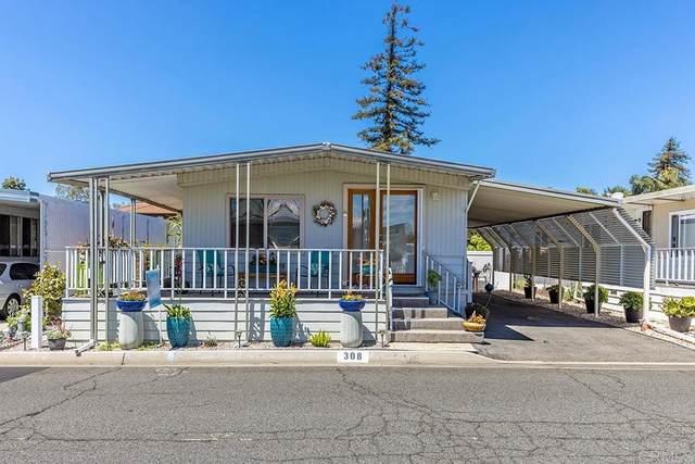 200 N El Camino Real #308, Oceanside, CA 92058 (#NDP2110901) :: Berkshire Hathaway HomeServices California Properties
