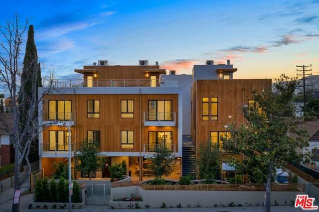 1041 N Spaulding Avenue #202, Los Angeles (City), CA 90046 (#21785702) :: Blake Cory Home Selling Team