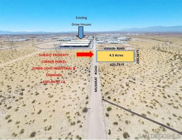 0 Muskrat, Adelanto, CA 92301 (#210026666) :: Steele Canyon Realty