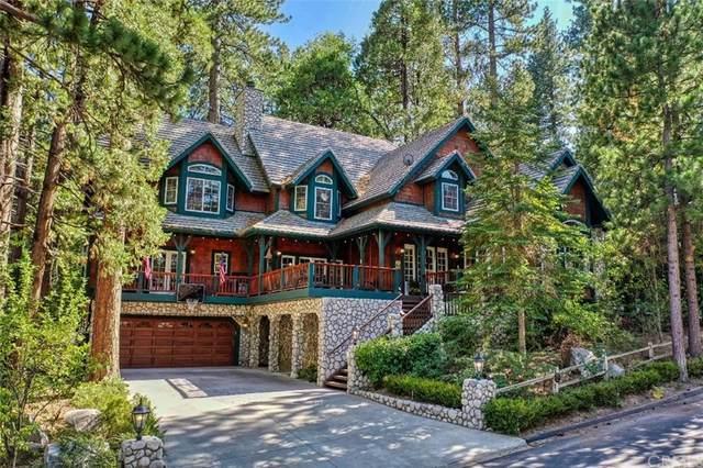 27867 Hamiltair Drive, Lake Arrowhead, CA 92352 (#EV21206539) :: American Real Estate List & Sell