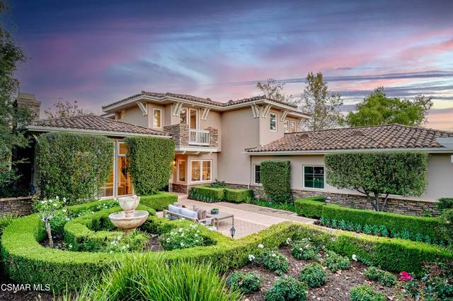 2020 Upper Ranch Road, Westlake Village, CA 91362 (#221005170) :: American Real Estate List & Sell
