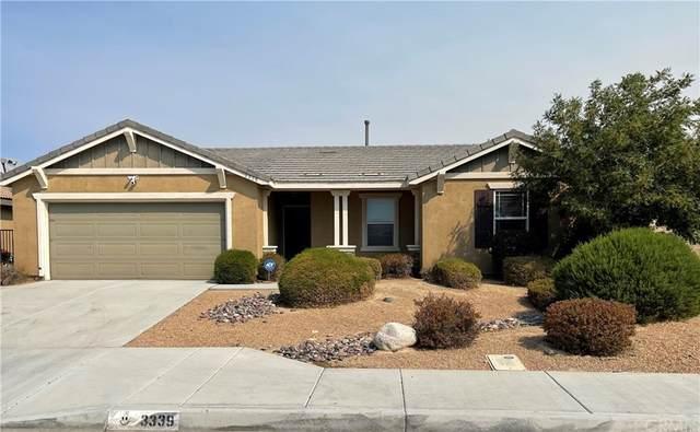 3339 Patti Lane, Lancaster, CA 93535 (#IG21207921) :: Swack Real Estate Group | Keller Williams Realty Central Coast