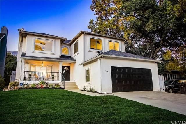 719 E Palm Street, Altadena, CA 91001 (#PF21207560) :: Corcoran Global Living
