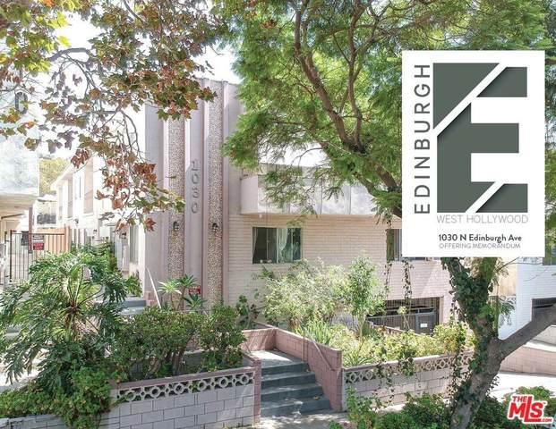 1030 N Edinburgh Avenue, West Hollywood, CA 90046 (#21786236) :: Veronica Encinas Team