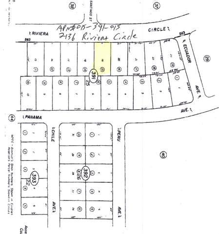 2136 Riviera Circle, Salton City, CA 92275 (#219067842DA) :: RE/MAX Empire Properties