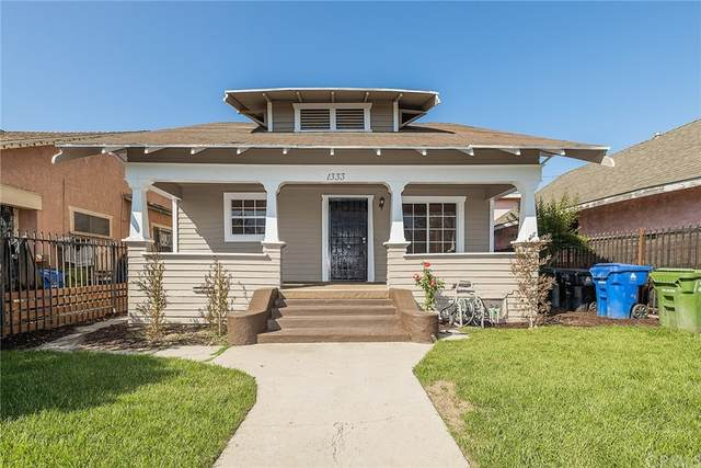 1333 E 41st Place, Los Angeles (City), CA 90011 (#DW21208178) :: First Team Real Estate