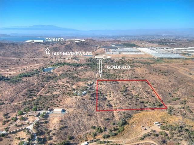 9 Acres Goldfield, Lake Mathews, CA 92570 (#IG21208297) :: Steele Canyon Realty