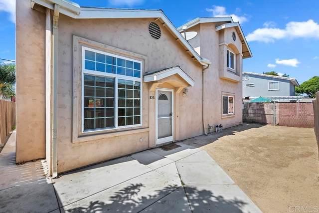 856 10th Street, Imperial Beach, CA 91932 (#NDP2110942) :: Corcoran Global Living