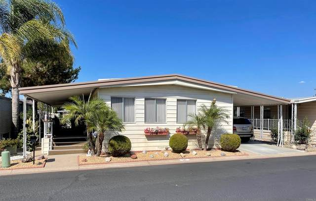 8301 Mission Gorge Road #341, Santee, CA 92071 (#PTP2106675) :: Steele Canyon Realty