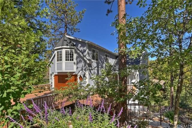 884 Grass Valley Road, Lake Arrowhead, CA 92352 (#EV21207309) :: American Real Estate List & Sell