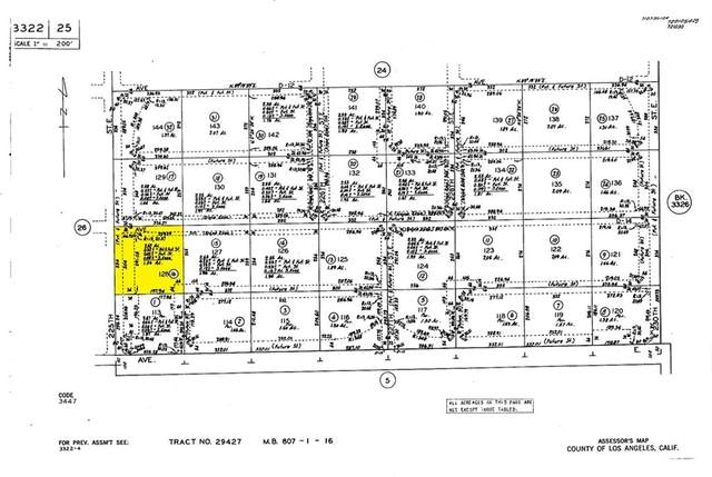 0 Vac/Cor 225 Ste/Ave D14, Lancaster, CA 93535 (#PF21208724) :: Swack Real Estate Group | Keller Williams Realty Central Coast