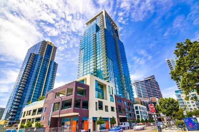 1388 Kettner Blvd Unit 2203, San Diego, CA 92101 (#210026821) :: First Team Real Estate