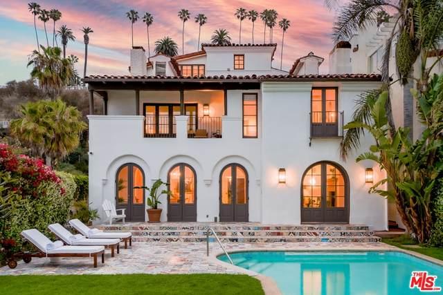 1020 Palisades Beach Road, Santa Monica, CA 90403 (#21786650) :: Steele Canyon Realty