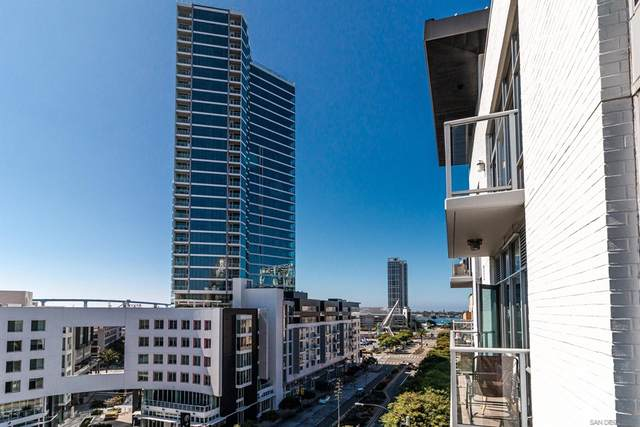 206 Park Blvd #706, San Diego, CA 92101 (#210026852) :: Rogers Realty Group/Berkshire Hathaway HomeServices California Properties