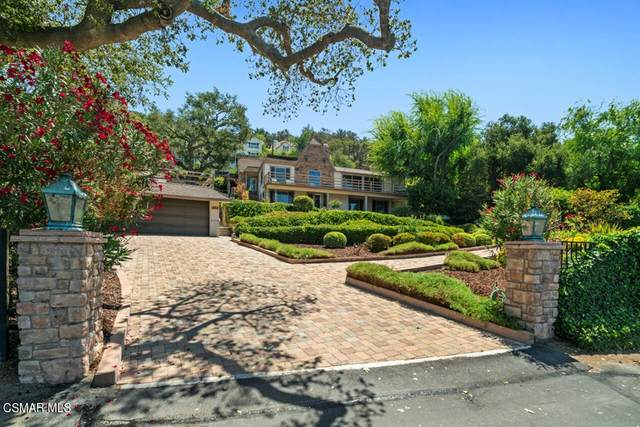 462 Lower Lake Road, Lake Sherwood, CA 91361 (#221005203) :: American Real Estate List & Sell