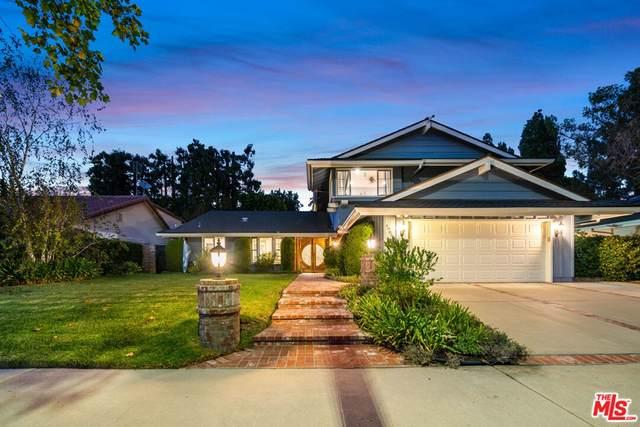 19055 Muirkirk Drive, Porter Ranch, CA 91326 (#21786992) :: Corcoran Global Living