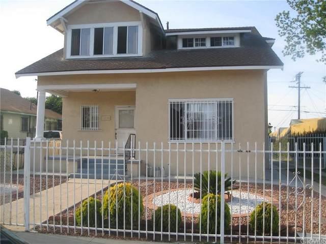 1315 W 104th Street, Los Angeles (City), CA 90044 (#WS21209682) :: Compass