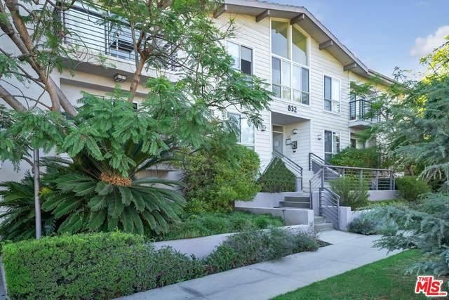 832 Euclid Street #105, Santa Monica, CA 90403 (#21787050) :: Cochren Realty Team | KW the Lakes
