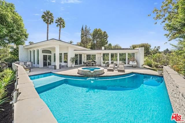 17044 Oak View Drive, Encino, CA 91436 (#21787080) :: Corcoran Global Living