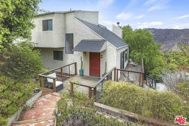 1926 Corral Canyon Road, Malibu, CA 90265 (#21779348) :: Millman Team