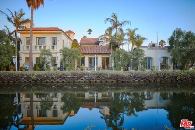 420 Carroll Canal, Venice, CA 90291 (#21784800) :: The Najar Group