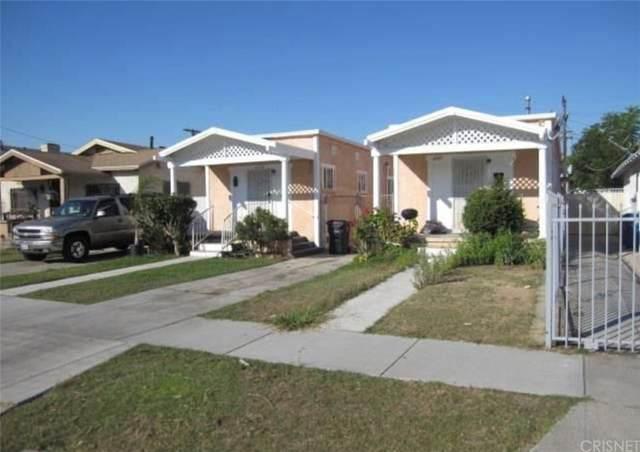 4337 Van Buren Place, Los Angeles (City), CA 90037 (#SR21208524) :: The Parsons Team