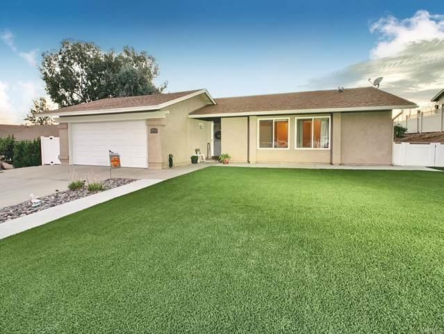 10326 Amada Place, Santee, CA 92071 (#PTP2106740) :: Corcoran Global Living