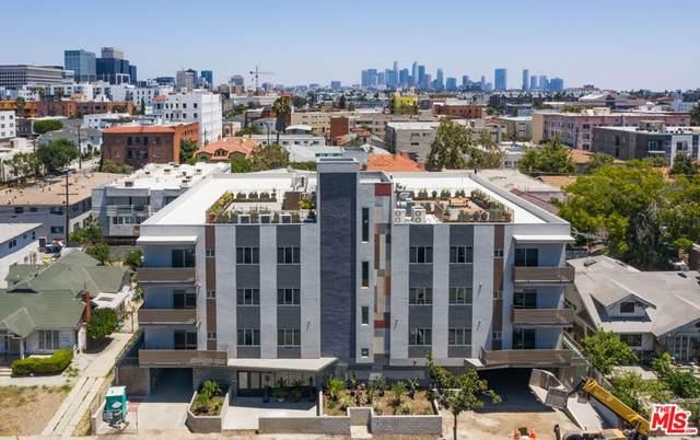 820 S Wilton Place #302, Los Angeles (City), CA 90005 (#21786140) :: The Laffins Real Estate Team