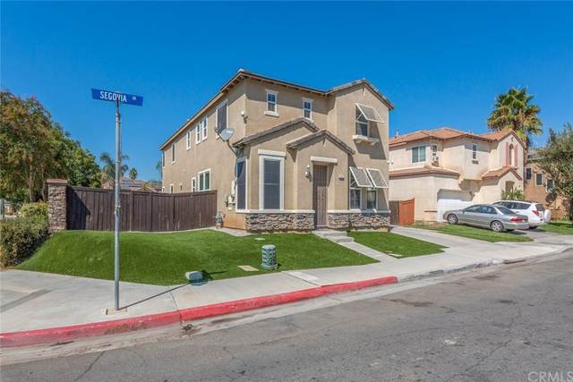 3602 Segovia Drive, Perris, CA 92571 (#SW21210654) :: Rogers Realty Group/Berkshire Hathaway HomeServices California Properties