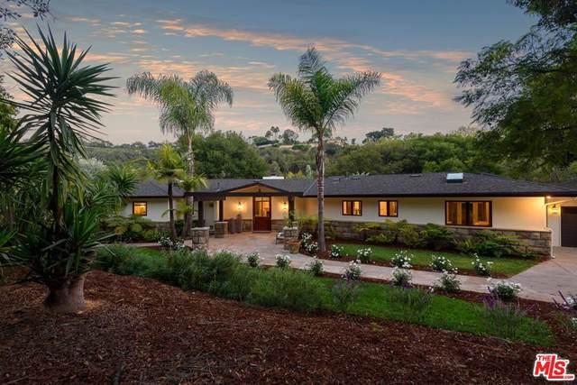 4375 Via Glorieta, Santa Barbara, CA 93110 (#21787464) :: American Real Estate List & Sell