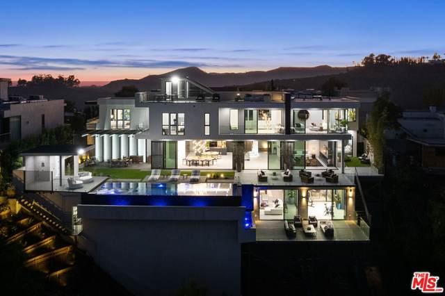 1640 Stradella Road, Los Angeles (City), CA 90077 (#21787072) :: Team Forss Realty Group
